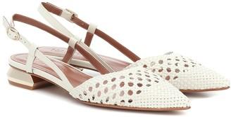 Souliers Martinez Exclusive to Mytheresa a Jerez leather slingback sandals
