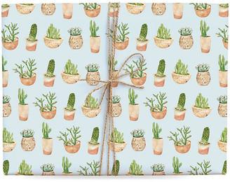 Lana's Shop Set of 3 Succulent Gift Wrap