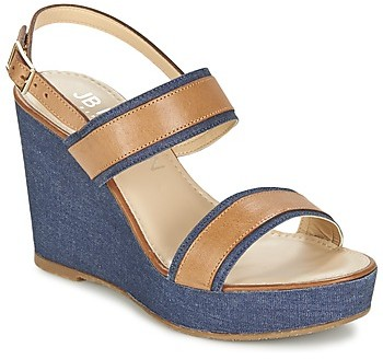 JB Martin ORIGAMI women's Sandals in Blue