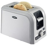 Oster 2-Slice Digital Countdown Toaster, Brushed Stainless, TSSTRTS2S2