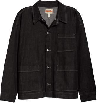 Eileen Fisher Organic Cotton Blend Chore Jacket