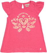 Lucky Brand Raspberry Big Lucky Vine Tee - Girls
