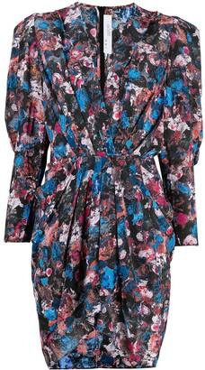 IRO Forrie abstract-print mini dress