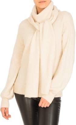 GUESS Marla Draped Blouson-Sleeve Sweater