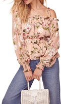ASTR the Label Harlee Floral Print Top