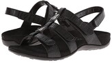 Vionic Amber (Black Croco) Women's Sandals