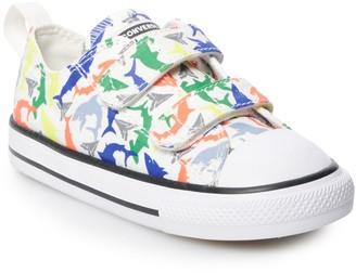 Converse Toddler Boys' Chuck Taylor All Star Shark 2V Sneakers