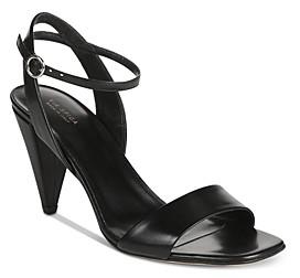 Via Spiga Women's Ria Cone Heel Strappy Sandals