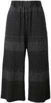 Damir Doma cropped embroidered trousers - men - Cotton - S