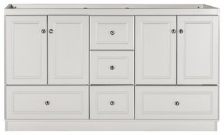 """Highland Dunes Cheever Ultra 60"""" Double Bathroom Vanity Base Only Highland Dunes"""