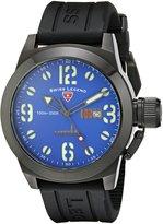 Swiss Legend Men's 10543-BB-03-BLK Submersible Violet Blue Dial Watch