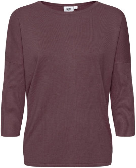 Saint Tropez Mila Sweater Burgundy - XS