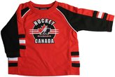 Mighty-Mac Mighty Mac Team Canada Baby Raglan Logo Polyester Top