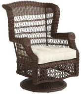 Pier 1 Imports Sunset Pier Chesnut Brown Swivel Rocking Chair