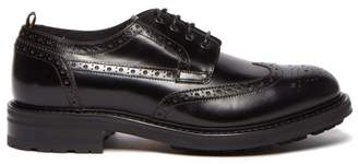 Dunhill Country Leather Brogues - Mens - Black