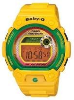 Casio Women's Baby-G BLX100-9 Yellow Resin Quartz Watch with Dial