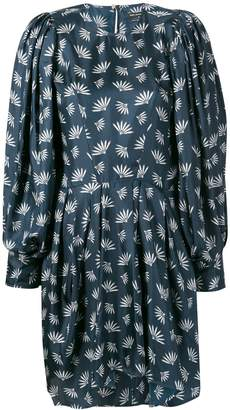 Isabel Marant wheat fan print dress