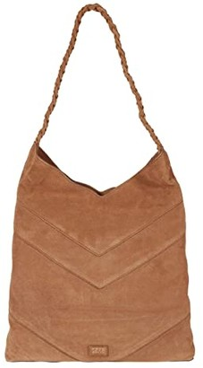Frye AND CO. Caden Hobo (Tan) Handbags