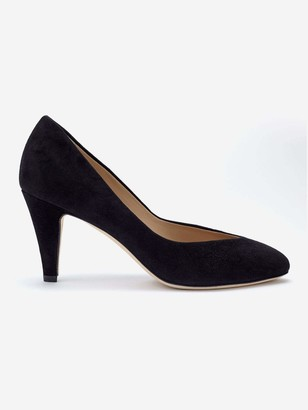 Sclarandis Stella Pump in Black Size 39.5 Leather