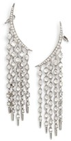 Oscar de la Renta Women's Tendril Crystal Earrings