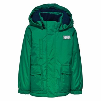 Lego Wear Kids & Baby Tec Waterproof & Windproof Fleece-Lined Snow/Ski Jacket with Detachable Hood and Reflective Detail
