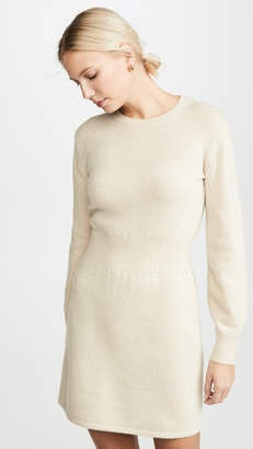 Theory Rib Waist Sweater Dress