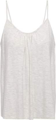 Melange Home Skin Lexie Gathered Stretch-jersey Camisole