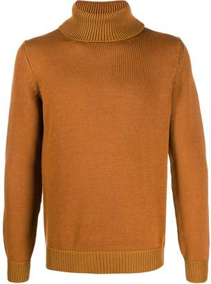 Roberto Collina slim-fit roll-neck jumper