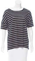 Vince Short Sleeve Striped Top w/ Tags