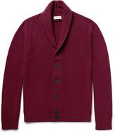 John Smedley Patterson Shawl-Collar Merino Wool and Cashmere-Blend Cardigan