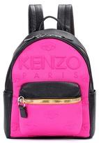 Kenzo Leather and neoprene backpack