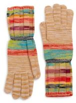 Missoni Striped Wool-Blend Gloves