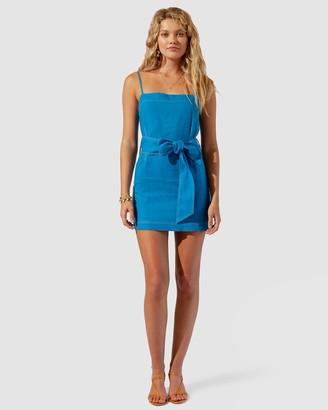 SUBOO Sandy Belted Mini Dress