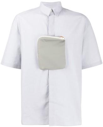 Sunnei Pouch Detail Button Shirt