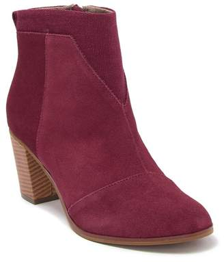 Toms Lunata Suede Ankle Boot
