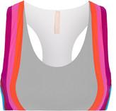 NO KA 'OI No Ka'Oi Honi paneled stretch-jersey sports bra