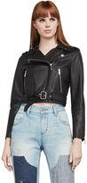 BCBGMAXAZRIA Trinity Leather Moto Jacket