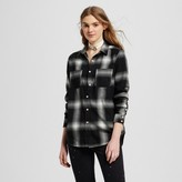 Mossimo Women's Flannel Boyfriend Shirt
