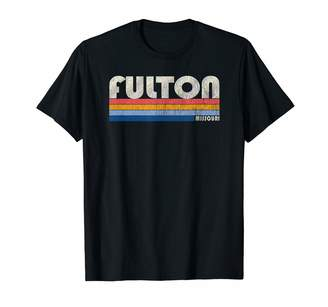 Fulton Trendy Retro 70's 80's Style Clothing Vintage 70s 80s Style MO T-Shirt