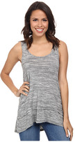 Mod-o-doc Spaced Dyed Banded Tank Top