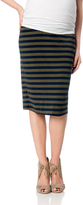 A Pea in the Pod Splendid No Belly Maternity Skirt