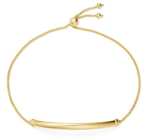 Bloomingdale's Bar Station Bolo Bracelet in 14K Yellow Gold - 100% Exclusive