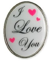Tarina Tarantino I Love You Mod Ring - Pink (FINAL SALE)