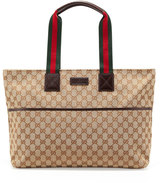 Gucci GG Diaper Bag with Changing Pad, Beige