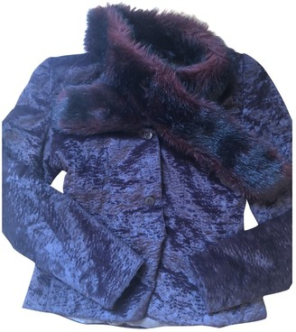 Miu Miu Purple Faux fur Jacket for Women