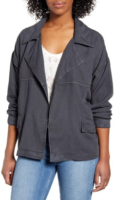 Caslon Tencel Utility Jacket (Regular & Petite)