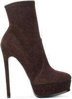 Casadei platform heeled sock boots