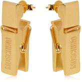 Moschino Clothespin Earrings