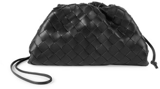 Bottega Veneta Small The Pouch Leather Clutch