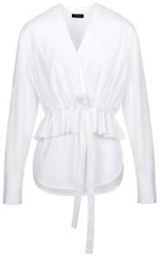 Frenken White Stash Shirt - 36/uk 8 - White